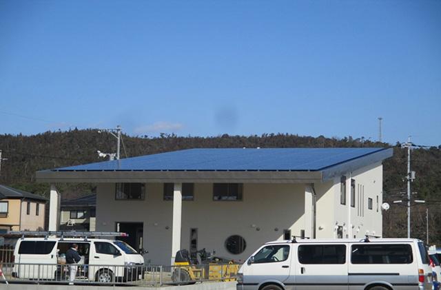 岡山県 自社 社屋発電所
