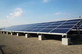 太陽光発電 野立て