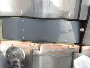和瓦(アンカー)の施工工程