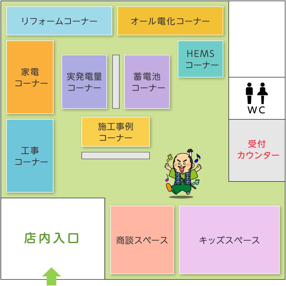 ショールーム案内図