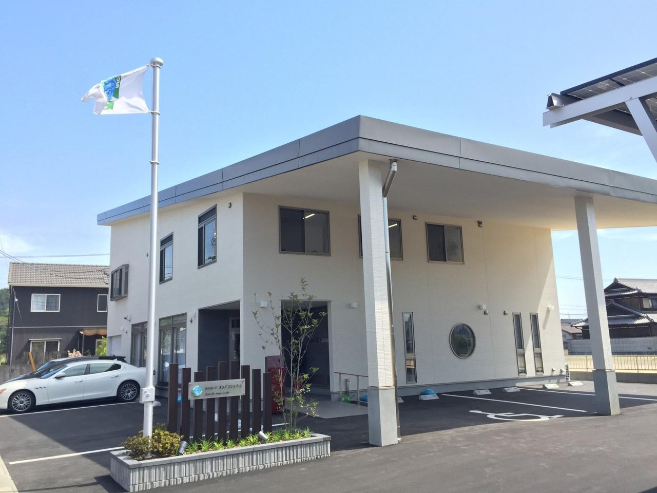 倉敷新社屋の外観写真